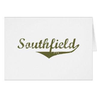 Camisetas de la revolución de Southfield Felicitacion