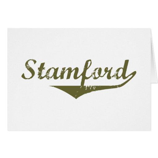 Camisetas de la revolución de Stamford Felicitación