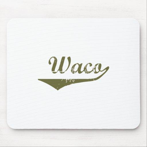 Camisetas de la revolución de Waco Tapete De Ratón