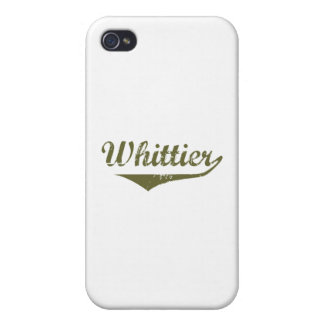 Camisetas de la revolución de Whittier iPhone 4 Cárcasa