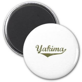 Camisetas de la revolución de Yakima Imán Redondo 5 Cm
