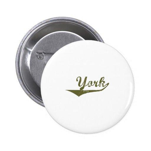 Camisetas de la revolución de York Pin Redondo 5 Cm