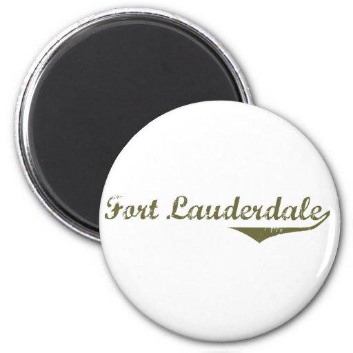 Camisetas de la revolución del Fort Lauderdale Imán Redondo 5 Cm