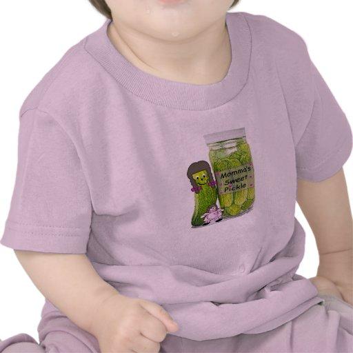Camisetas de la salmuera dulce de Momma