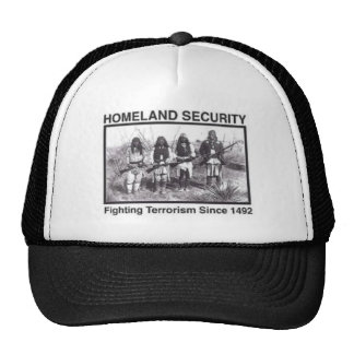 Camisetas de la seguridad de patria del nativo gorro