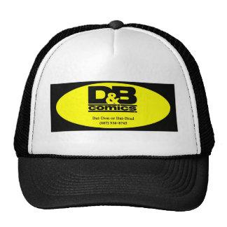Camisetas de la señal de D&B Gorro De Camionero