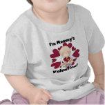 Camisetas de la tarjeta del día de San Valentín de