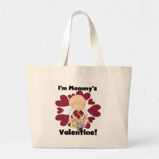 Camisetas de la tarjeta del día de San Valentín de Bolsa Tela Grande
