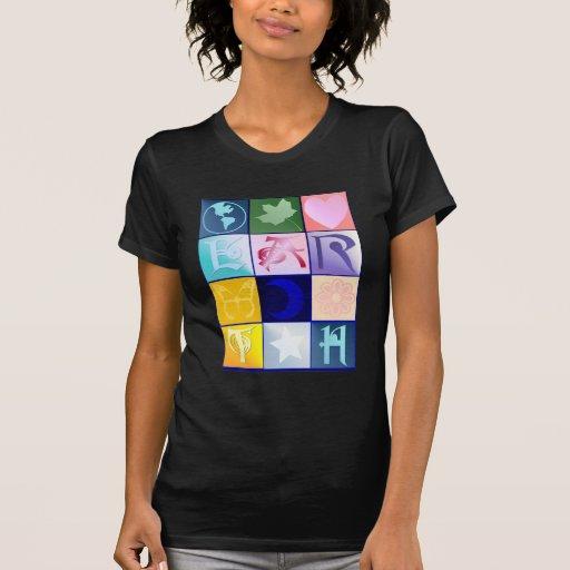 Camisetas de la tierra poleras