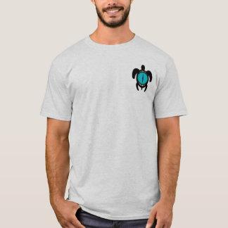 Camisetas de la tortuga 2-Sided del ojo de gato