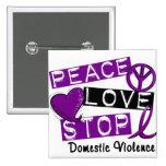 Camisetas de la violencia en el hogar de la PARADA Pins