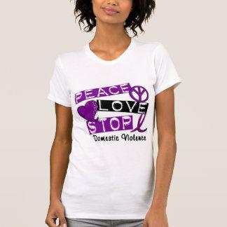 Camisetas de la violencia en el hogar de la PARADA