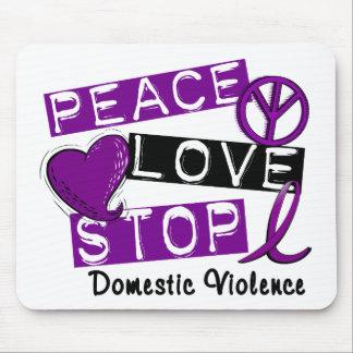Camisetas de la violencia en el hogar de la PARADA Alfombrilla De Ratones