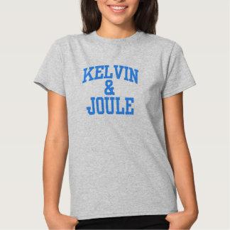 Camisetas de las mujeres de Kelvin y del julio Poleras