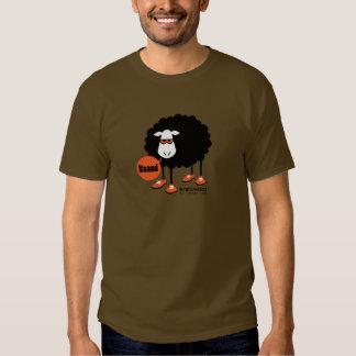 Camisetas de las ovejas negras de Baaad - camiseta Poleras