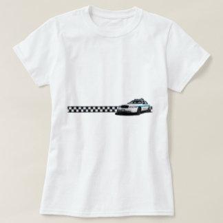 Camisetas de las señoras de Checkerband del