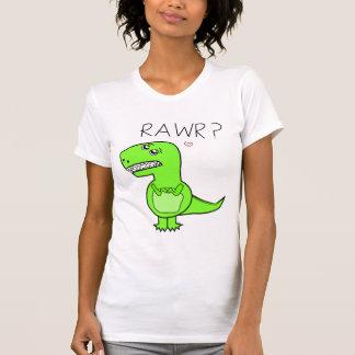 Camisetas de las señoras T-Rex Poleras