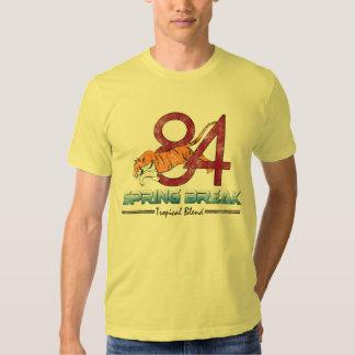 Camisetas de las vacaciones de primavera, vintage remeras