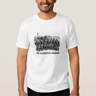 Camisetas de los aviadores de Tuskegee Polera