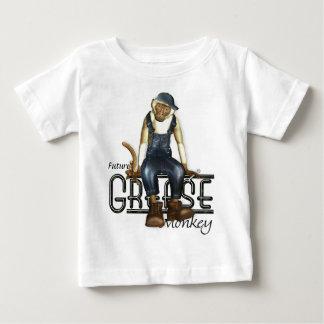 Camisetas de los bebés de los mecánicos del mono camisas