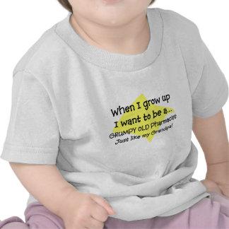Camisetas de los Grandkids del farmacéutico divert