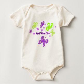 Camisetas de los niños de Pulelehua (mariposa) Mameluco De Bebé