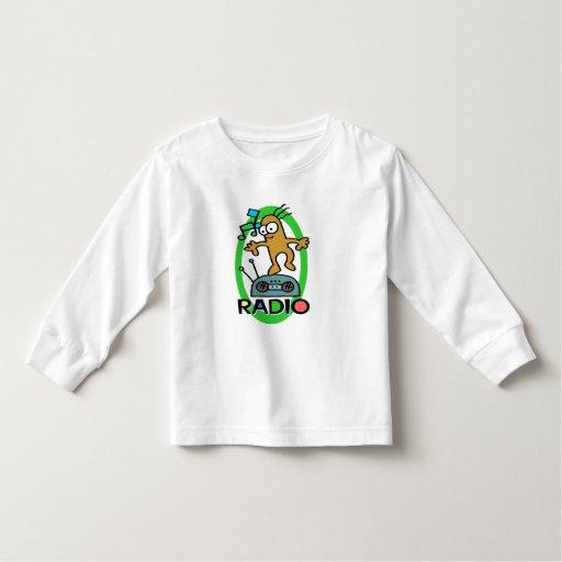 Camisetas de los niños y regalos de radio de los