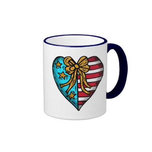 Camisetas de los niños y regalos patrióticos de lo taza