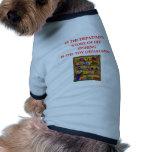 camisetas de los regalos de la pesca camisas de perritos