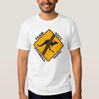 Camisetas de Ozzy Roadkill del equipo Playera