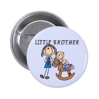 Camisetas de pequeño Brother del caballo mecedora Pins
