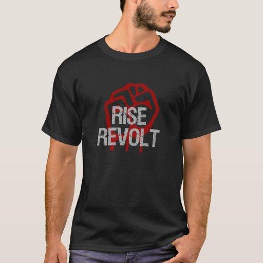 Camisetas de vuelta de América de la subida y de