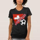 Camisetas del aficionado al fútbol del mundo de