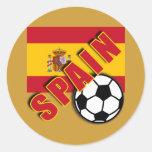 Camisetas del aficionado al fútbol del mundo de ES Etiquetas