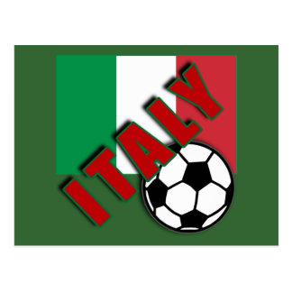 Camisetas del aficionado al fútbol del mundo de IT Tarjeta Postal