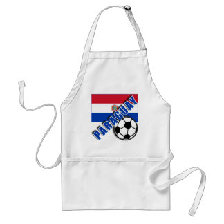 Camisetas del aficionado al fútbol del mundo de PA Delantales