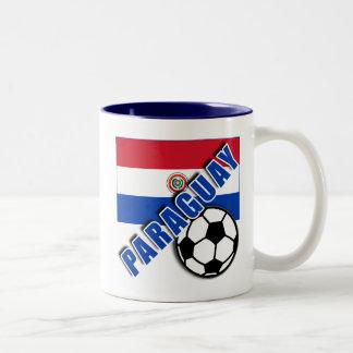 Camisetas del aficionado al fútbol del mundo de PA Taza