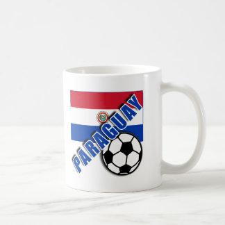 Camisetas del aficionado al fútbol del mundo de PA Tazas De Café