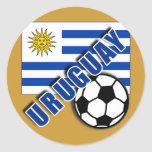 Camisetas del aficionado al fútbol del mundo de UR Pegatinas