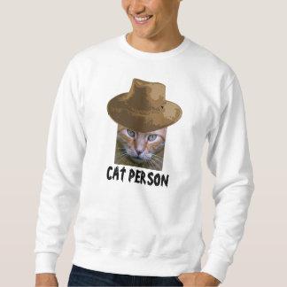 Camisetas del amante del gato, persona del gato jersey