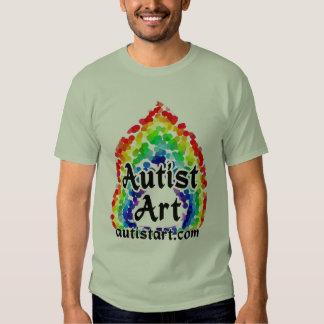 Camisetas del arte de Autist Poleras