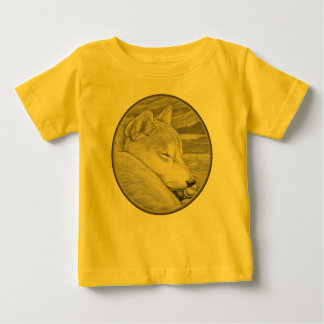 Camisetas del arte del amante del perro del bebé