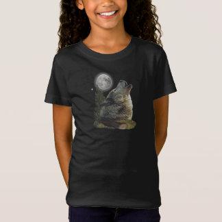 Camisetas del arte del lobo