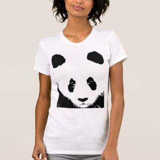 Camisetas del arte pop de la panda