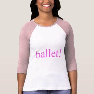 Camisetas del ballet camisas