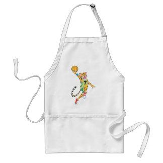 Camisetas del baloncesto - baloncesto de la clavad delantal
