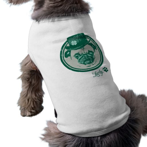 Camisetas del barro amasado del día de St Patrick  Camisetas De Perro