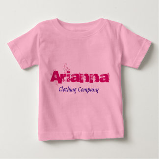 Camisetas del bebé de Arianna Name Clothing