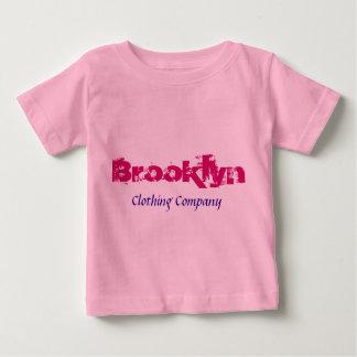 Camisetas del bebé de Brooklyn Name Clothing