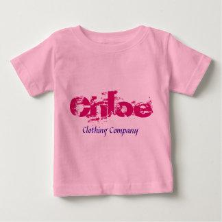 Camisetas del bebé de Chloe Name Clothing Company